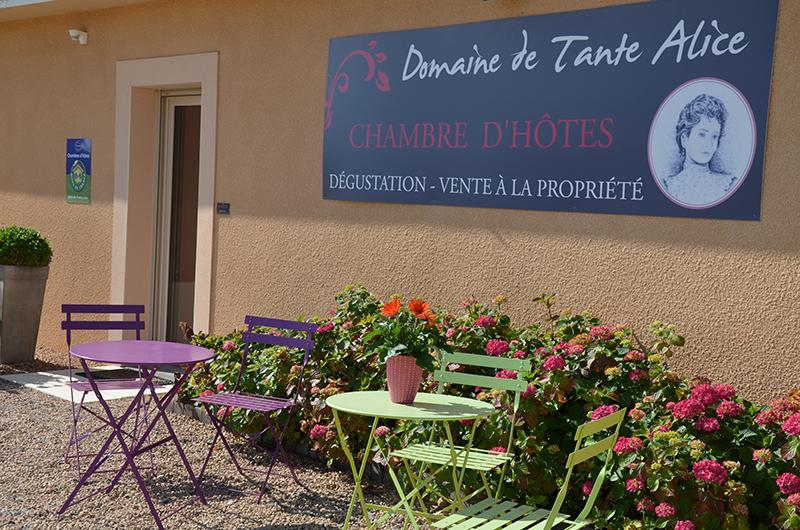 Domaine viticole Tante Alice